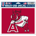 Arkansas Razorbacks Retro Hog Decal, WINC68089014