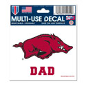 Arkansas Dad Decal