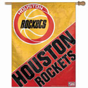 Houston Rockets Vintage Logo Banner, WINC77430091