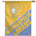 Minneapolis Lakers Vintage Logo Banner, WINC77447091