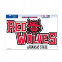 Red Wolves Ultra-cling Decal