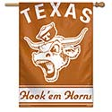 University of Texas Longhorns Hook'em Horns House Banner, WINC88223017H
