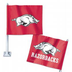 University of Arkansas Car Flag