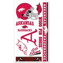 Arkansas Razorback Temporary Tattoos, WINC90605010