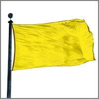 Color Flags with Yellows & Golds