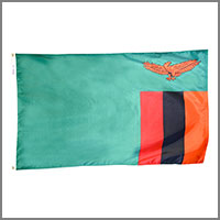 Zambia Flags